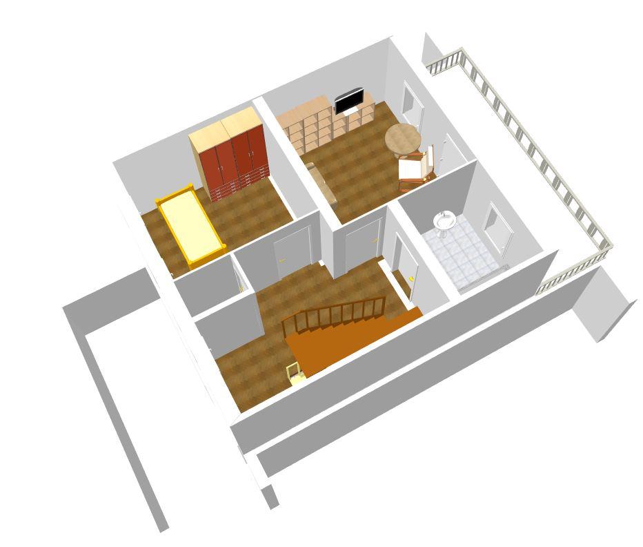 Wohnung Oder Haus In 3D